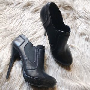 Also Black Ankle Bootie